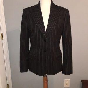 Beautiful Michael Kors Charcoal Pin Stripe Jacket